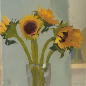Painting With A Loose Brush-Flowers, Lucy Barber