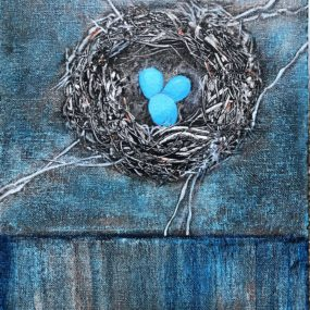 Birdnests In Acrylic, Libit Jones