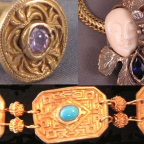 Advanced Bronze Clay Jewelry