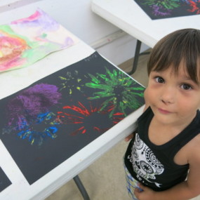 Sprouting Artists Ages 4-6