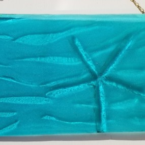 Bas Relief in Fused Glass, Liana Martin