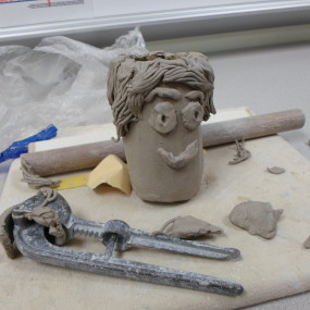 Clay Sculpture Fun Ages 11-15