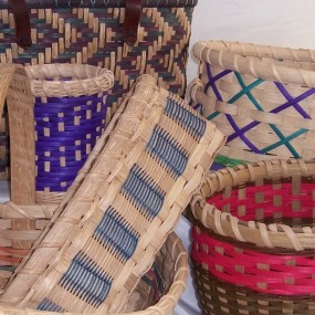 Open Weave For Baskets