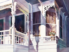 Colorful Porch, 8/14/07, 8:58 PM, 16C, 6570x7904 (123+661), 112%, FP Curve NonPo,  1/12 s, R35.2, G27.0, B44.7