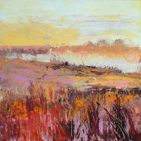Acrylic or Oil – Palette Knife Landscape, Joanna Coke