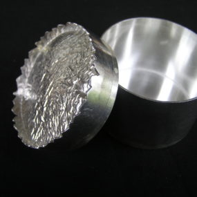 Constructing A Sterling Silver Pill Box, Don Roberts