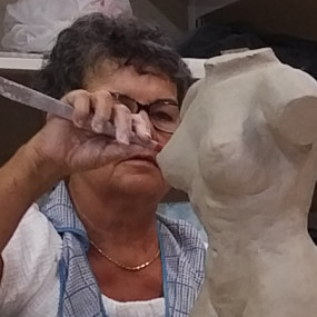 Live Model Sculpture