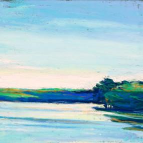 Luminous Pastel Paintings Outdoors