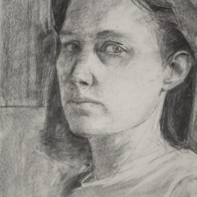 Portrait Drawing, Lucy Barber