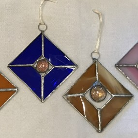 Nights Out-Stained Glass Sun Catcher with Pamela Kramer