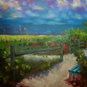 Acrylic Painting, Alexandra Lillis