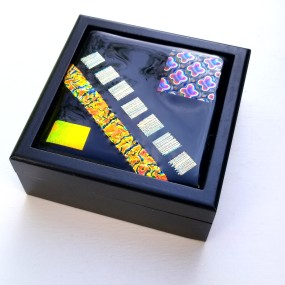 Fused Glass Tile Box, Liana Martin