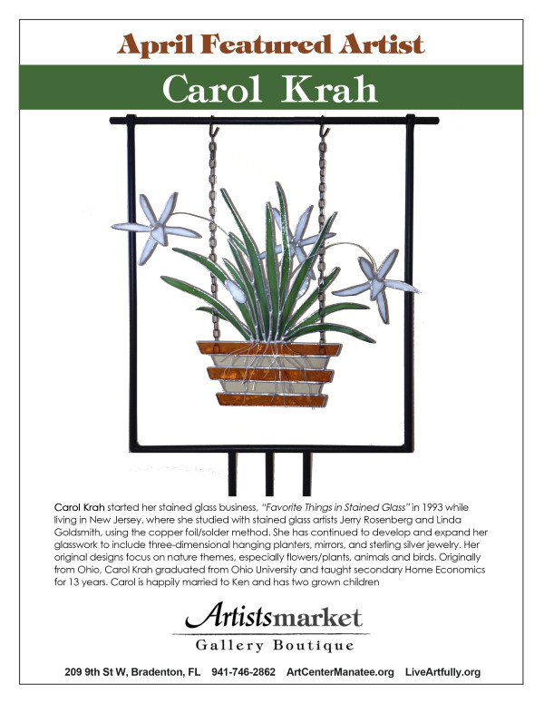 Featured Artist April Carol Krah