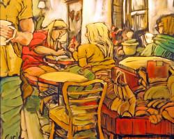Coffee Shop Carla Rudolph