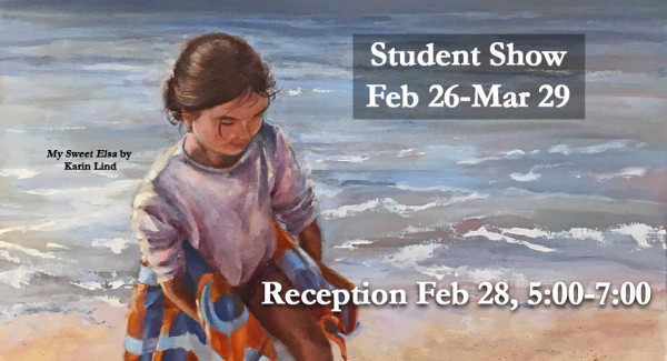 student show banner