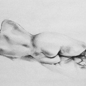 Figure Drawing, Alexandra Lillis