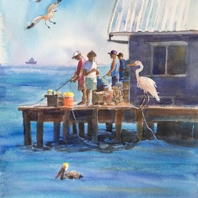 Beauty Of Watercolor, Graciela Giles