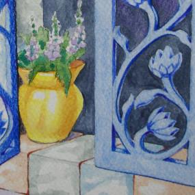Colored Pencil-Mondays, Alexandra Lillis