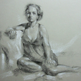 Figure Drawing, Alexandra Lillis
