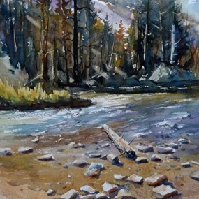 Landscape Impressions In Watercolor, Michael Holter