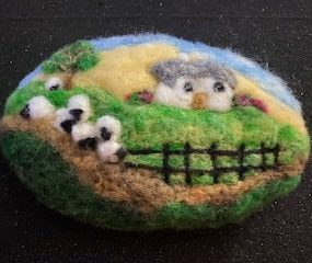 Nights Out: Felted Picture