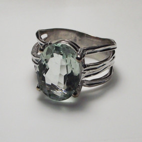 Faceted Stone Setting, Donna Carrion