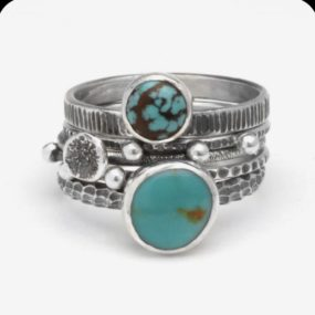 Beginner Stack Rings, Wendy Thurlow