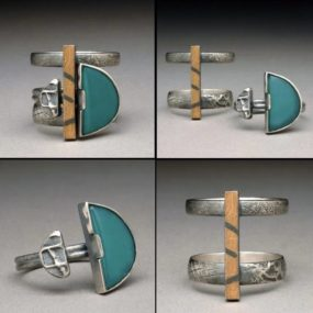 Puzzle Ring, Wendy Thurlow