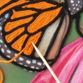 Huichol Yarn Paintings, Jan Wright