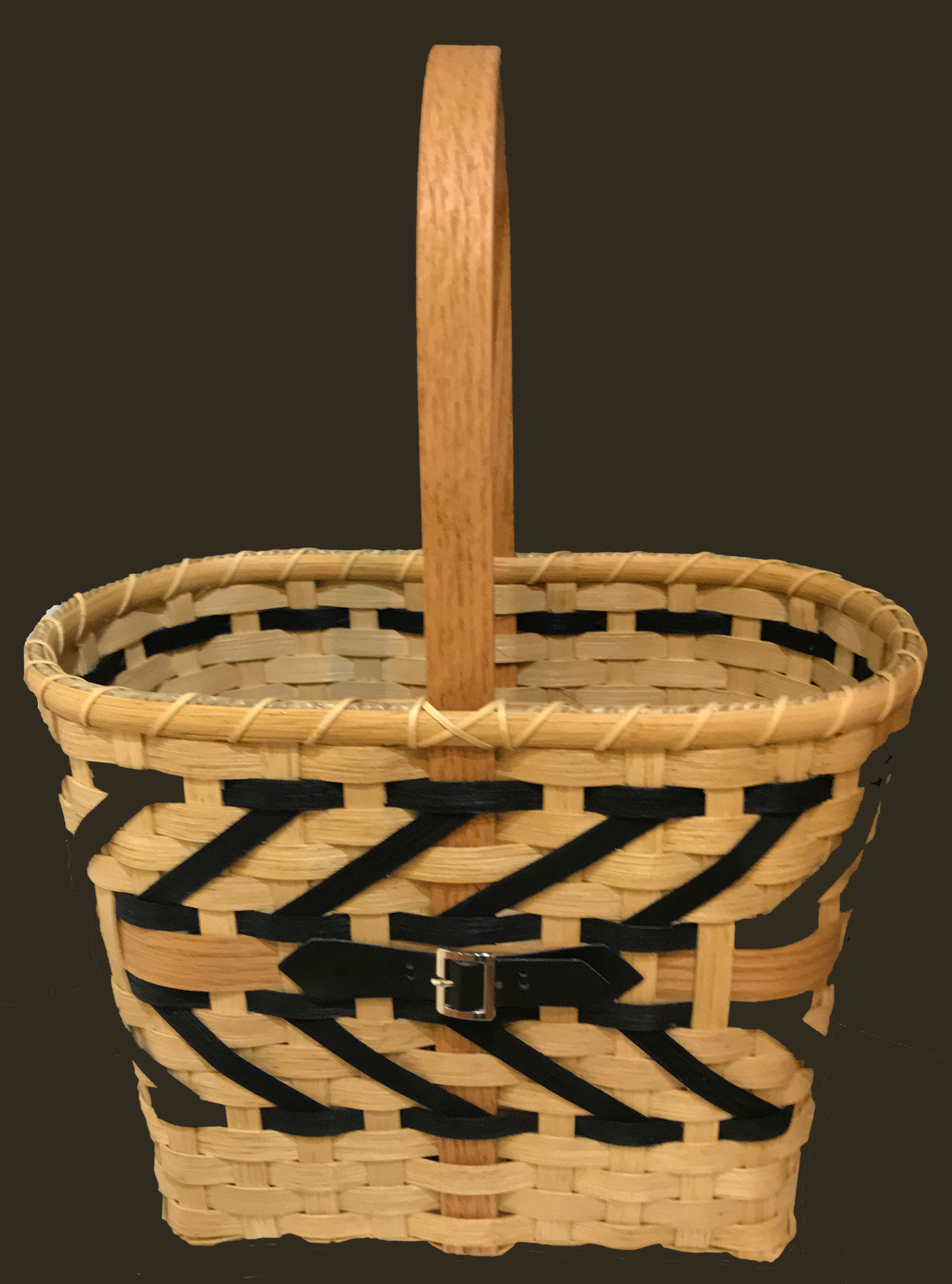 Buckle Up by Kay Johnson, Basketry, $55