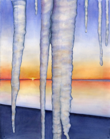 Fire and Ice by Kathy Simon-McDonald $750