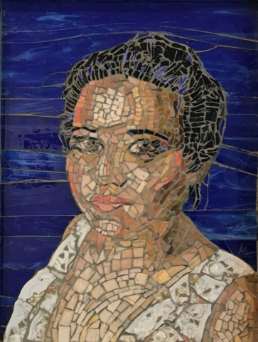 Grace by Donna Grossman, Mosaic, NFS