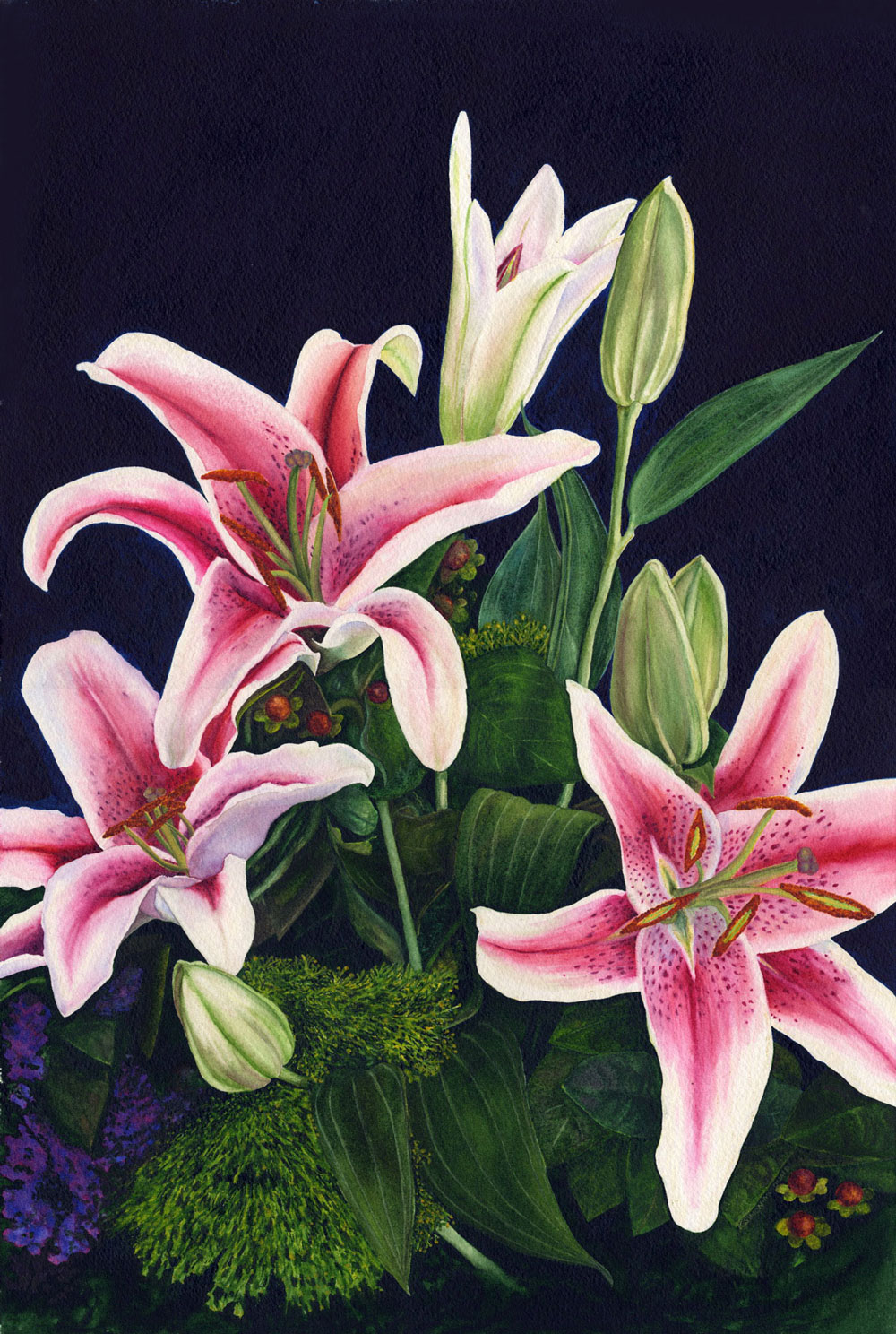 Julianna's Stargazers by Kathy Simon McDonald, $700CCC