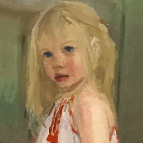 Isabella by Karen de Leon, Oil, $700