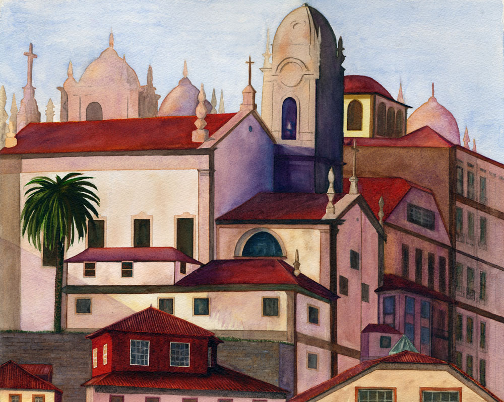 Porto by Kathy Simon-McDonald, $625