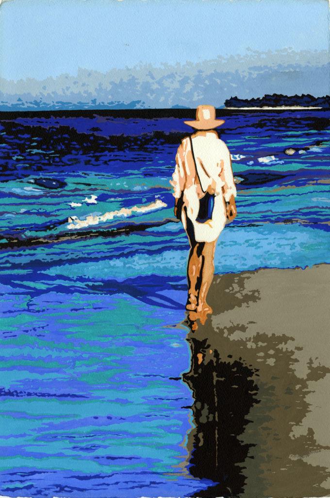 Morning Walk by Kathy Simon-McDonald, $800