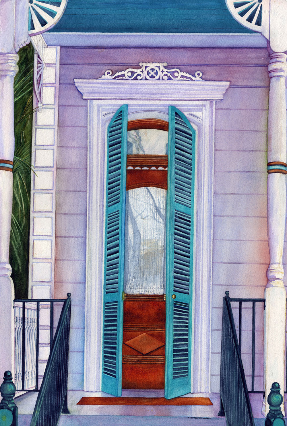 Welcome to New Orleans  by Kathy Simon-McDonald, $750