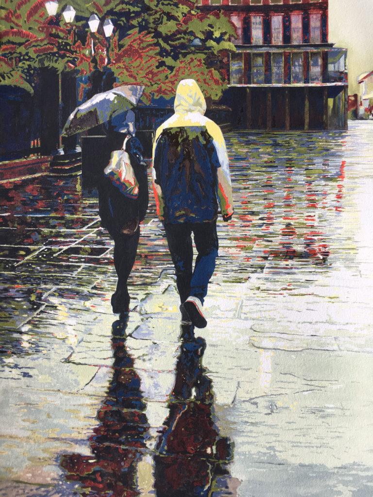 Winter Rain by Kathy Simon-McDonald, NFS