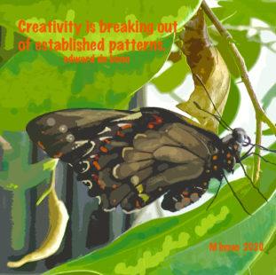 Butterfly by Marilyn Inman