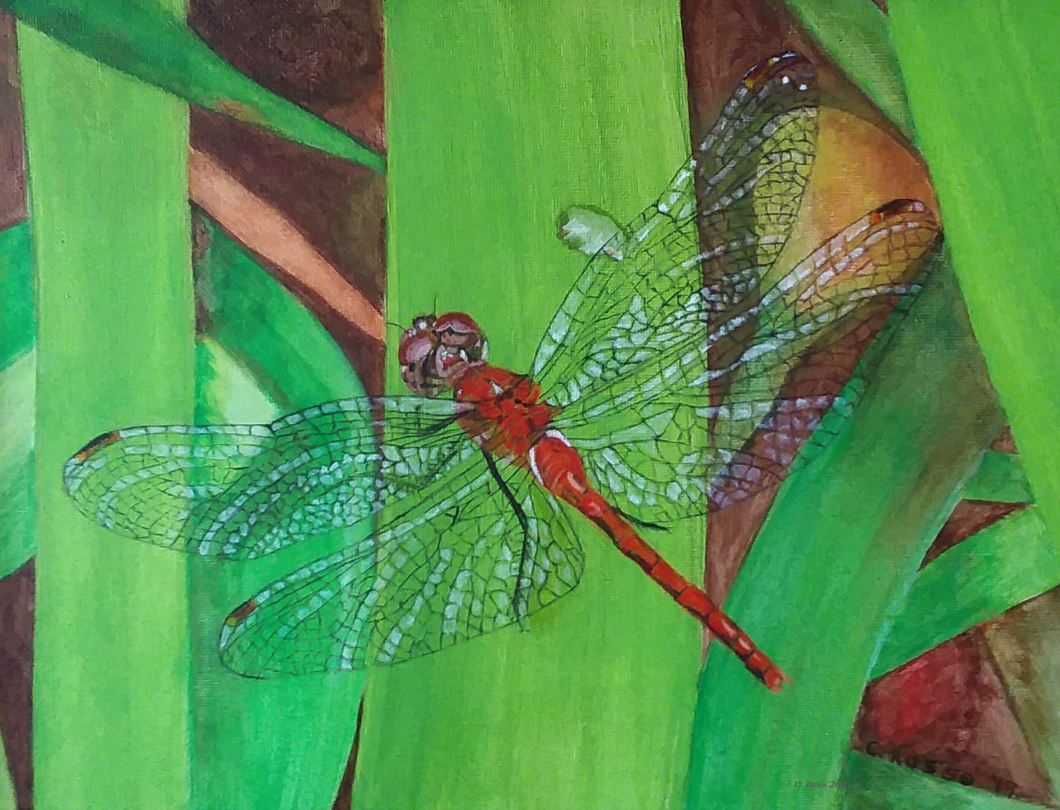 Dragonfly-Quilt-by Cynthia Rosso