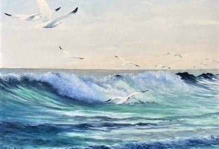 Flying the Crest by-Alfred Cianfarani