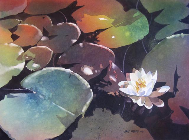 Lake Garden by Kris Parins