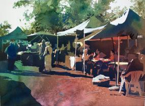 Morning Market by Kris Parins