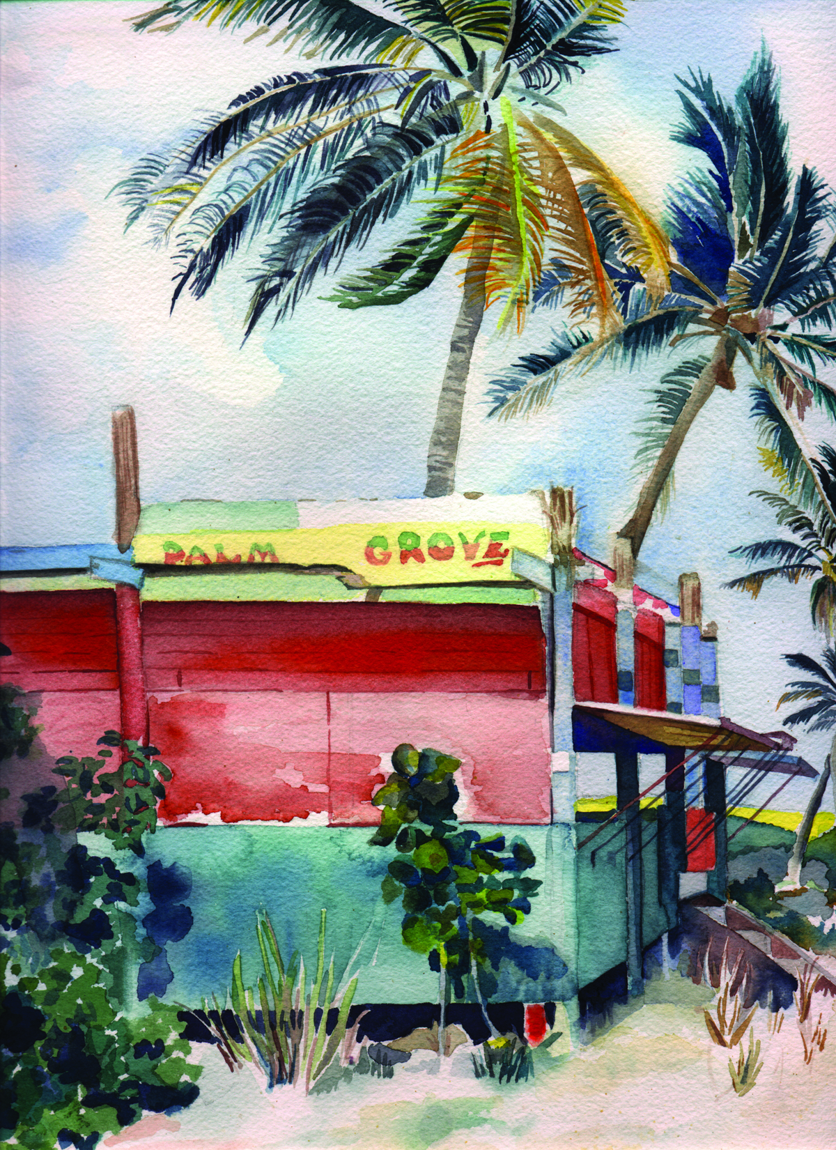 Palm Grove by Karen Beach