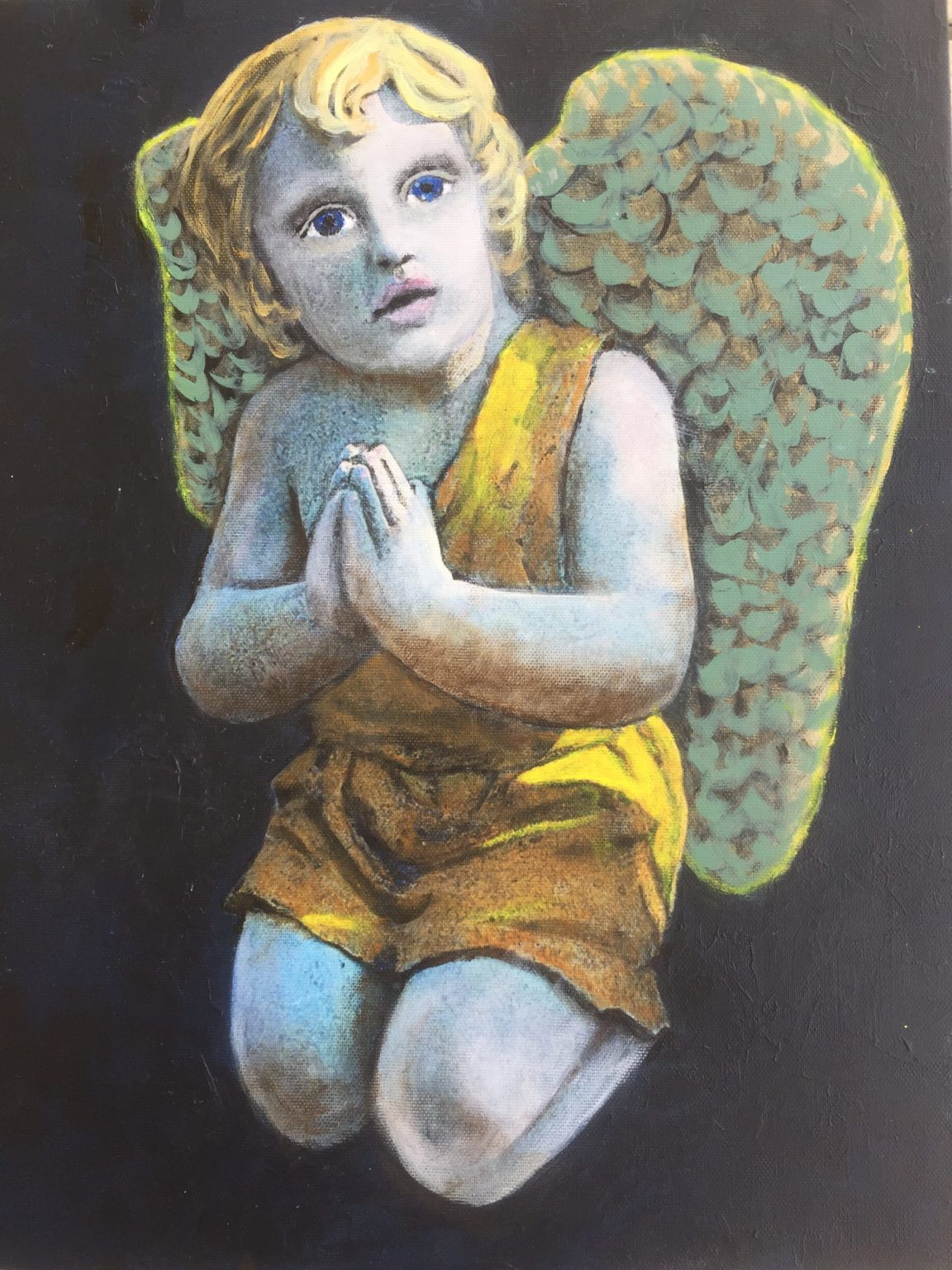 Ravi, The Angel of Healing by Goldie Tremblay