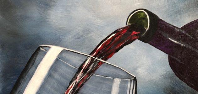 Red Wine Anyone! by Terri Hanna