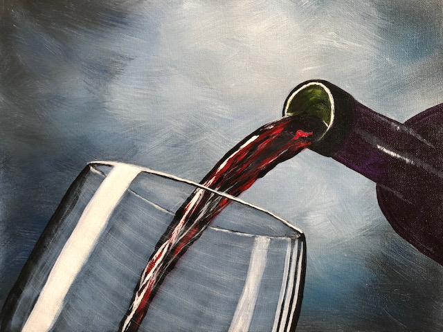 Red Wine Anyone! by Terri Hanna