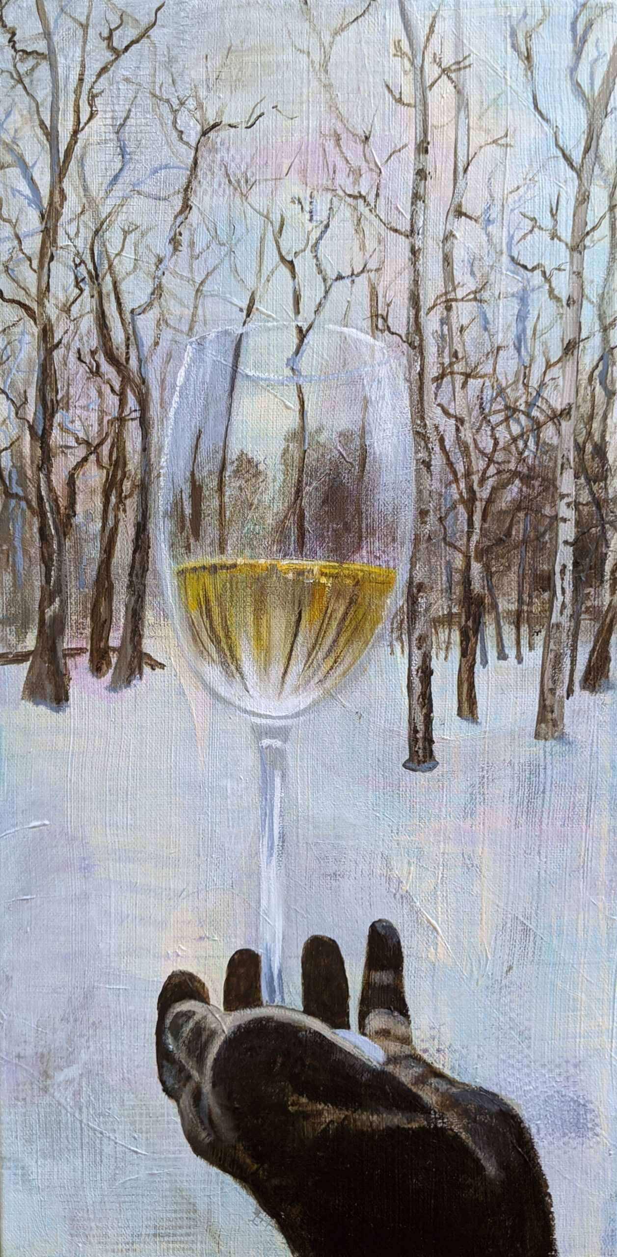 Toast to Winter by Deborah Van Brunt