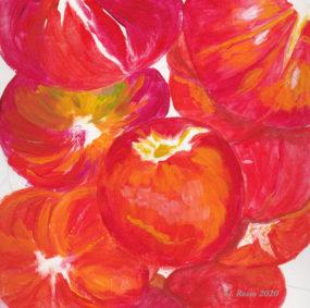Tomato Study by Cynthia Rosso