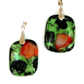 New Directions In Fused Glass Jewelry, Liana Martin